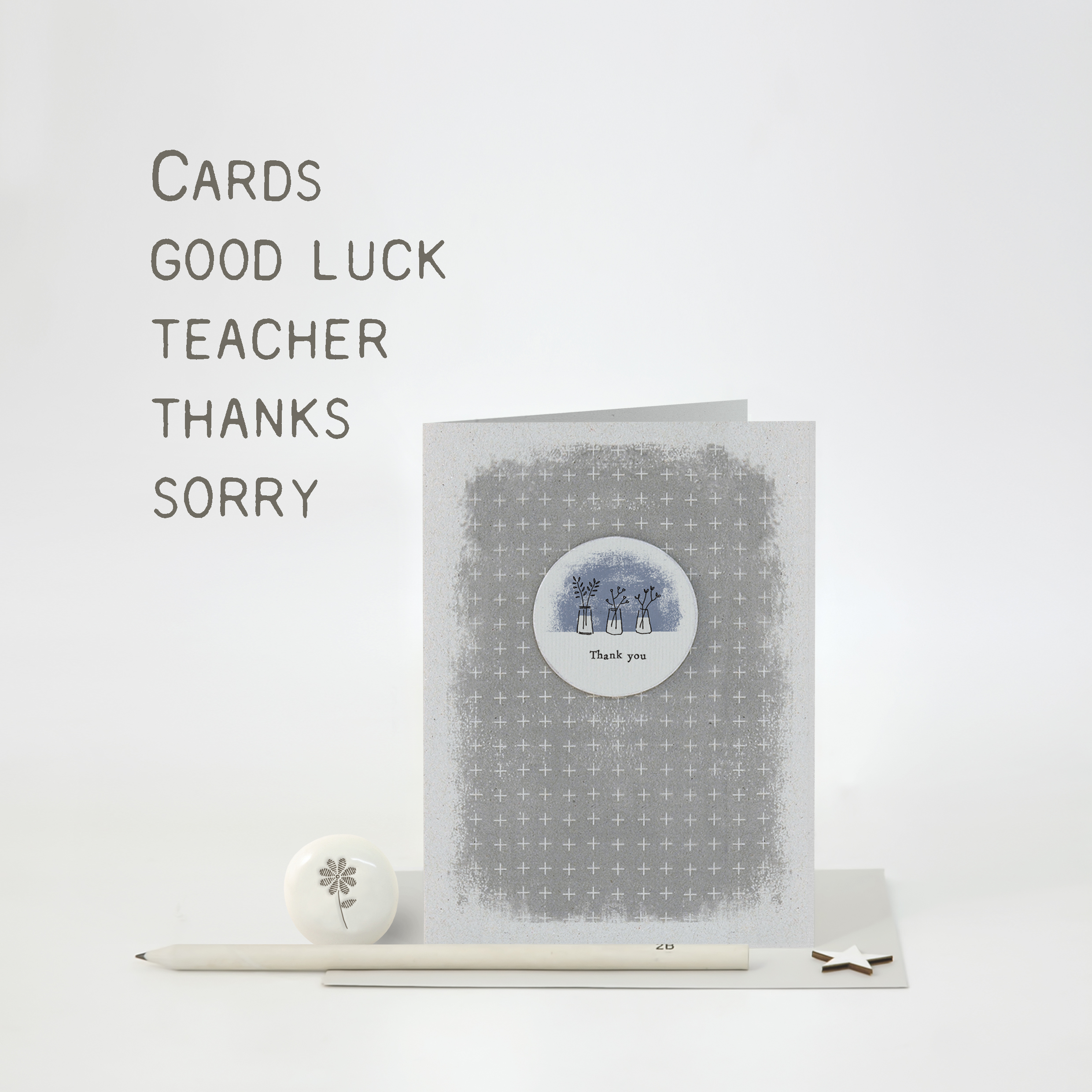 Teacher, Thanks, Sorry & Good luck
