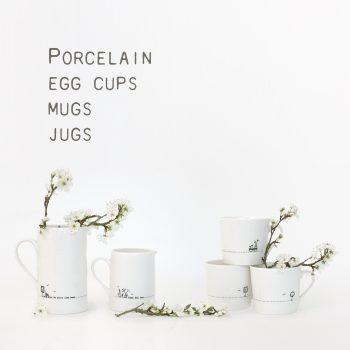 Mugs, Jugs & Egg cups