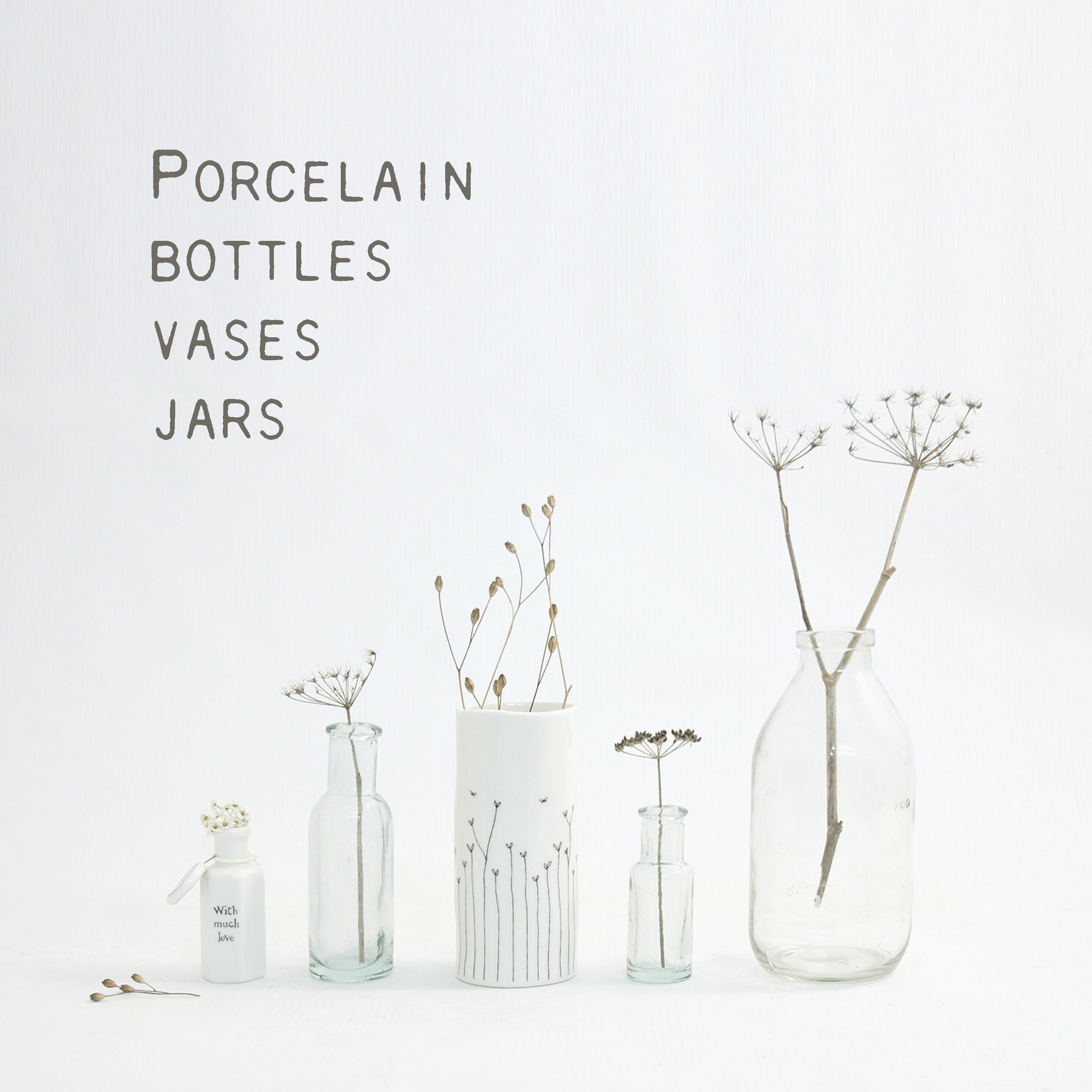 Vases, Jars & Bottles