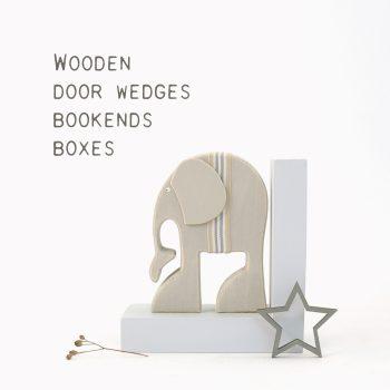 Boxes & Bookends & Door wedges