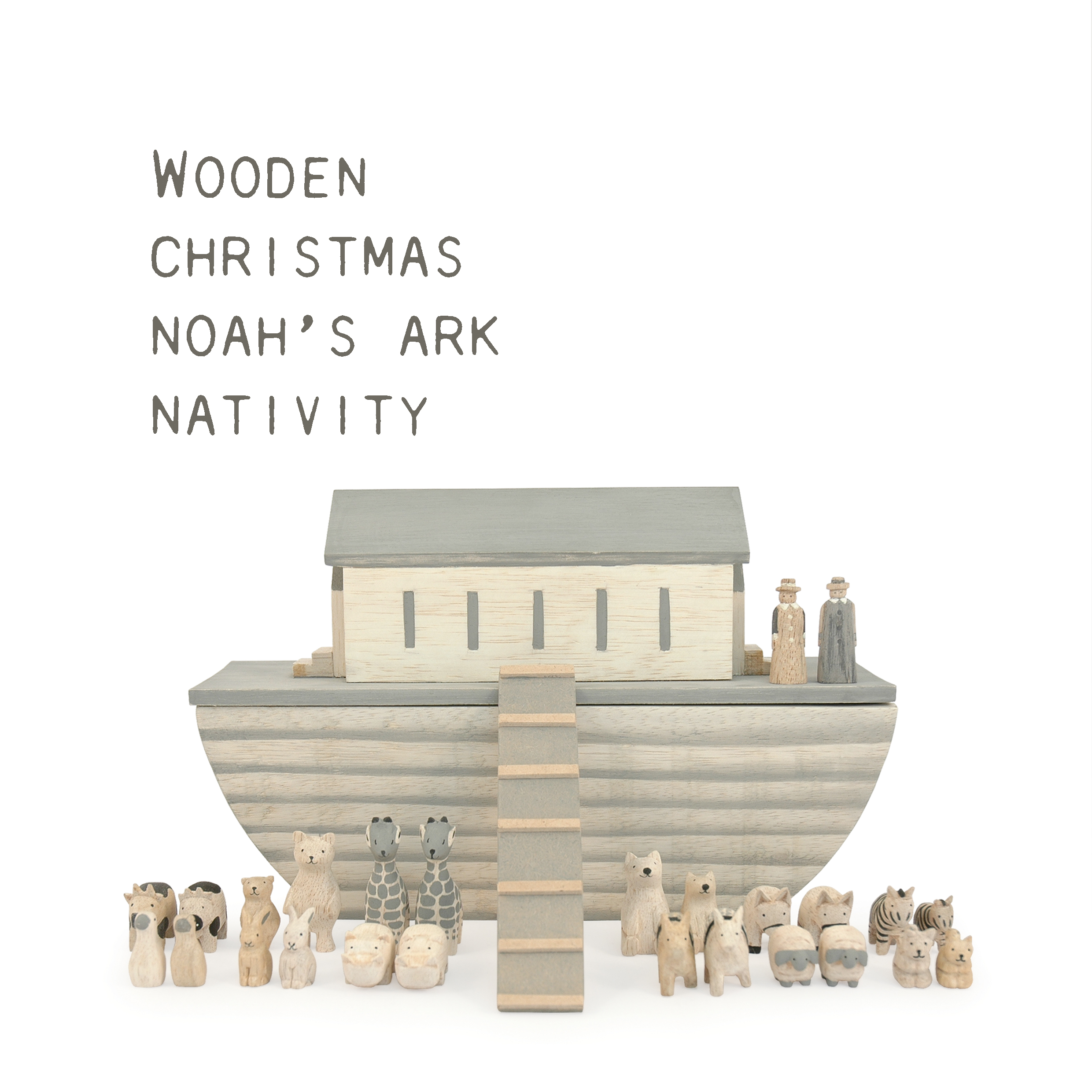 Noahs ark, Nativity & Christmas