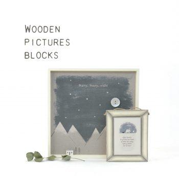 Pictures & Wooden blocks