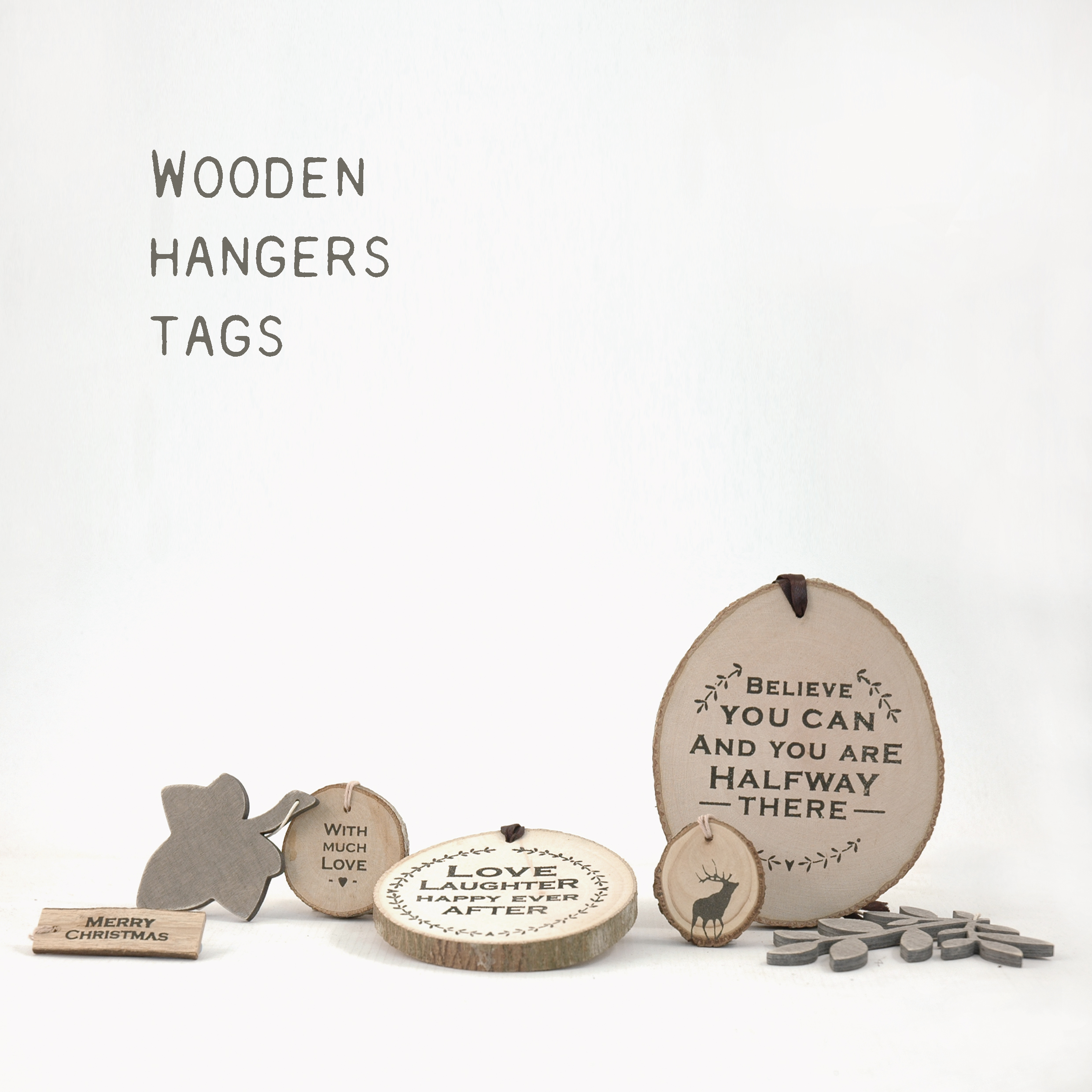 Tags & Wood hangers