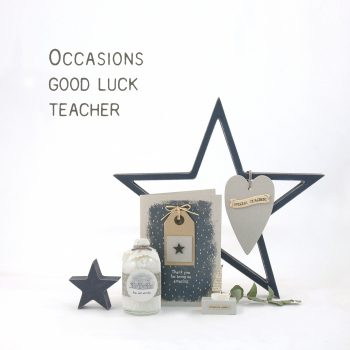 Teacher & Good luck